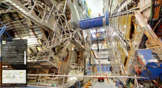 Google Street View takes you inside CERN (1)