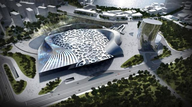 Ice World Dawang Mountain resort by Coop Himmelb(l)au (2)