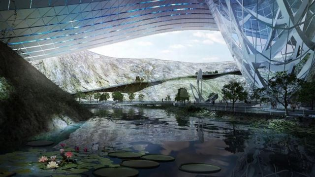 Ice World Dawang Mountain resort by Coop Himmelb(l)au (1)