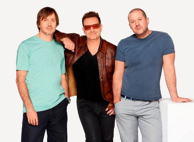 Jonathan Ive and Marc Newson collaborate with Bono for RED 1