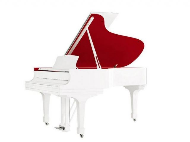Steinway & sons for (RED)' parlor grand model A pia