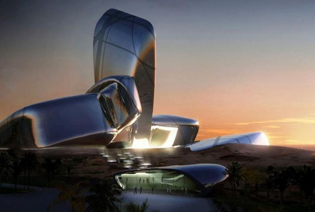 King Abdulaziz center for World Culture by Snohetta 1