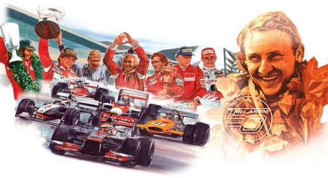 McLaren celebrates 50 years in Formula One 1