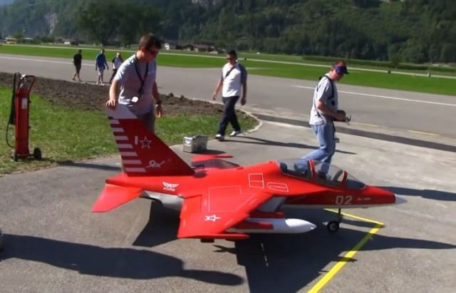 Model Jets at the RC Air Show in Switzerland (2)
