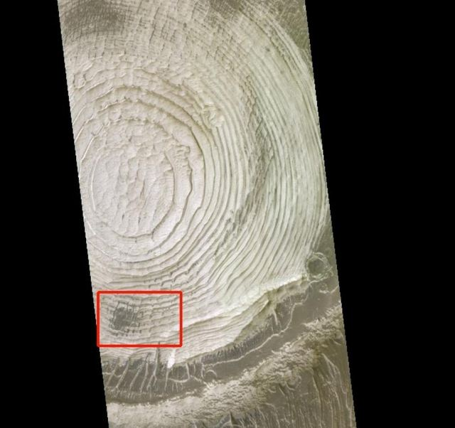 Mysterious ridges formed on Mars