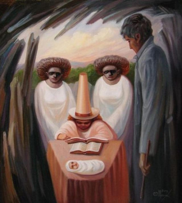 Optical Illusion Paintings (4)