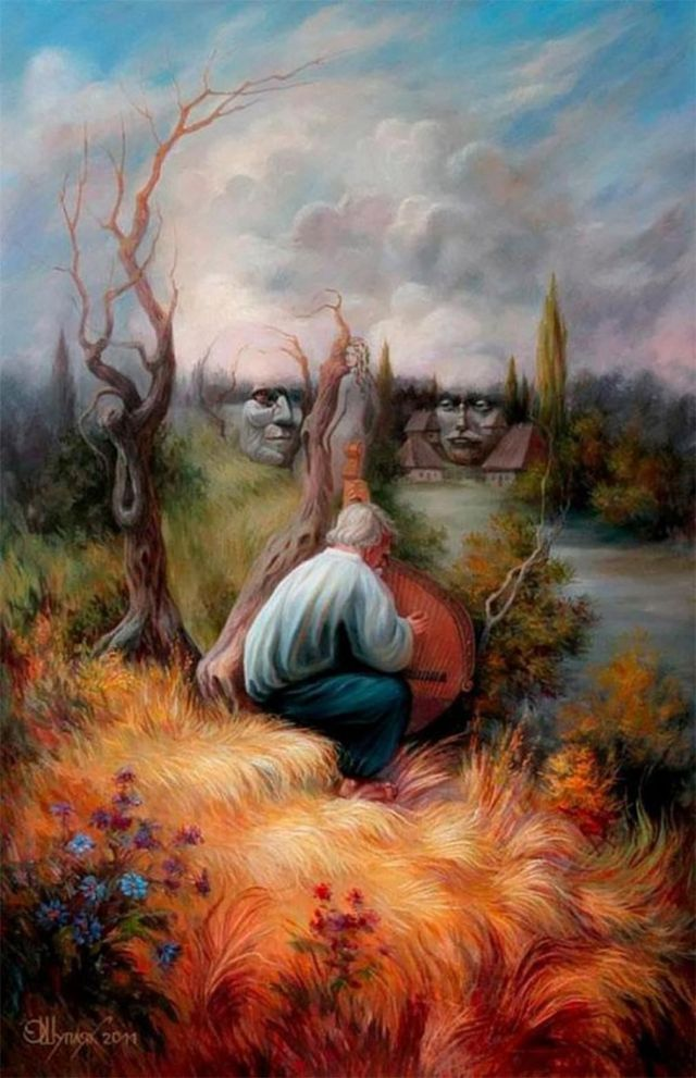 Optical Illusion Paintings (2)