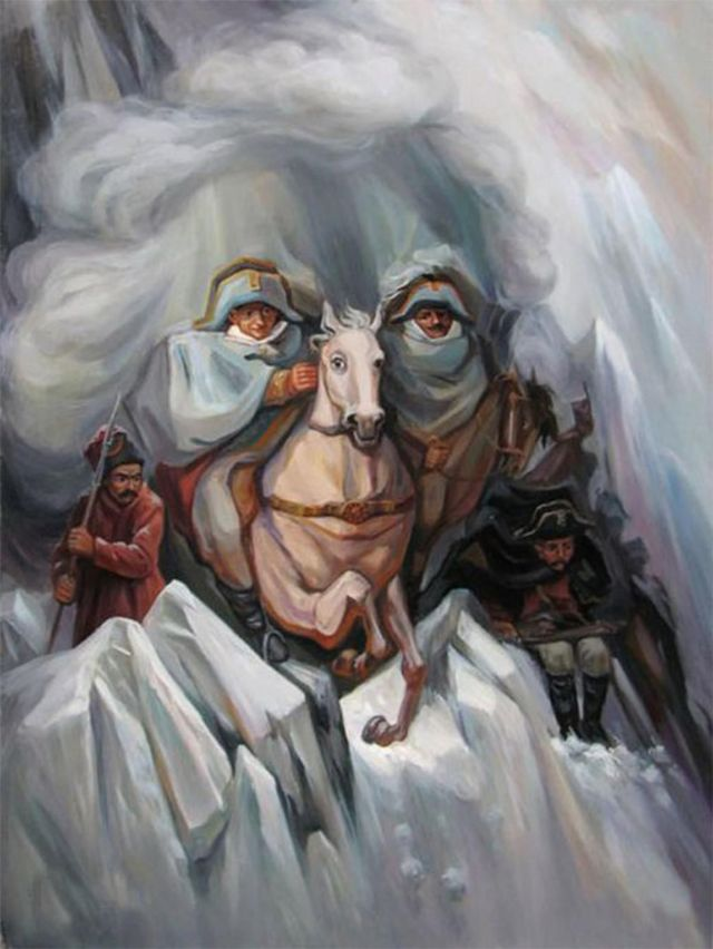 Optical Illusion Paintings (1)