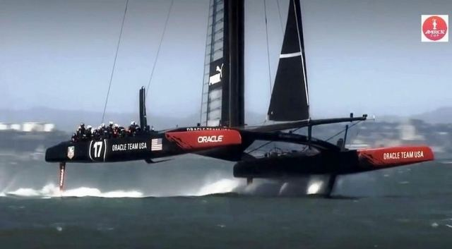 Oracle Team America's Cup winner (3)