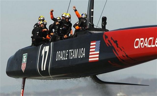 Oracle Team America's Cup winner 5