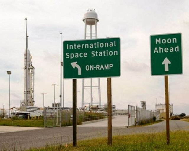 Out of this world road signs