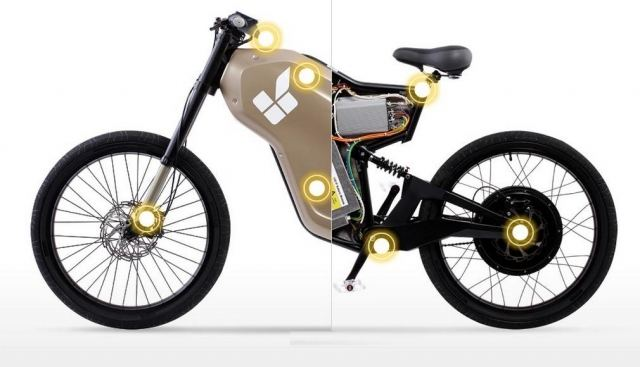 Rimac Greyp G12 Electric Bike 2