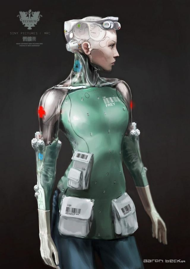 Robots we never saw in Elysium (2)