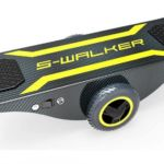 Self-Powered Self-Balancing Skateboard
