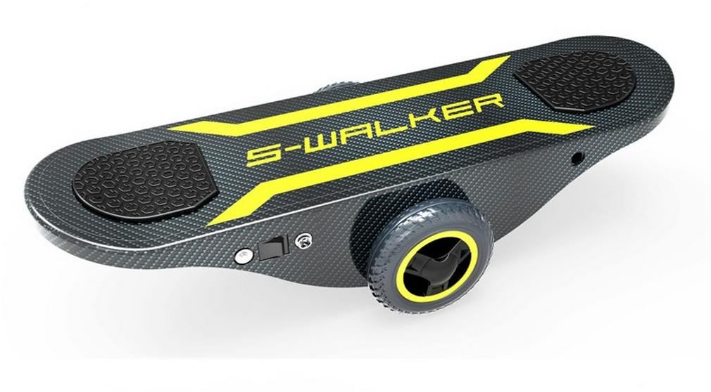 Self-Powered Self-Balancing Skateboard 1