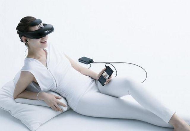 Sony's head-mounted video viewer to hit Europe soon 1