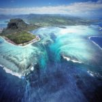 The Underwater Waterfall Illusion