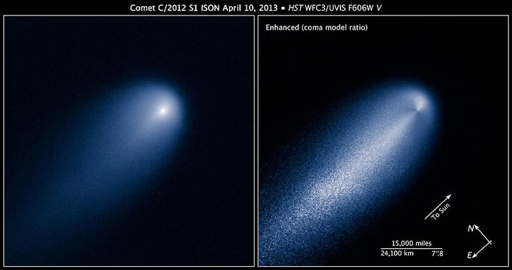 hubble comet and jupiter - photo #17