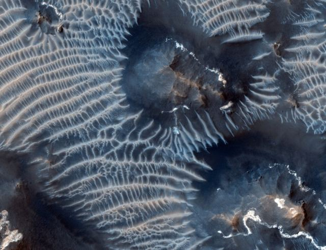 Two Generations of Mars Dunes