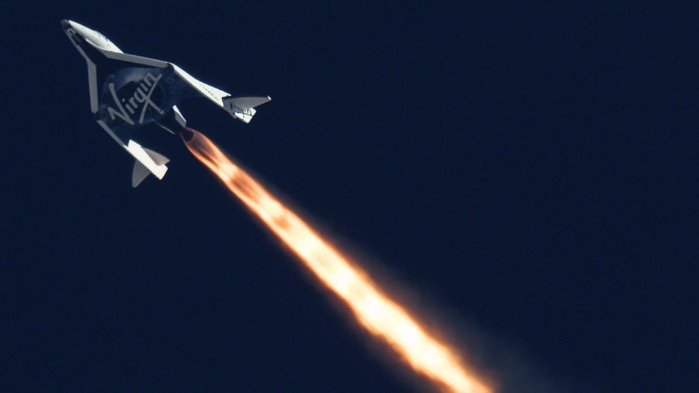 Virgin Galactic's second Rocket Powered test flight