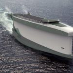 Windship ship concept uses its hull as a sail