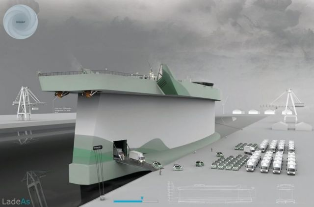 Windship ship concept uses its hull as a sail 2