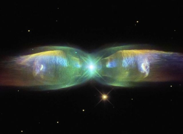 Wings of a Butterfly Nebula 1