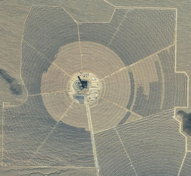 World's largest solar thermal plant on line 3