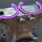 3D-printed titanium horseshoes