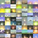 All the Space Shuttle Launches in a video