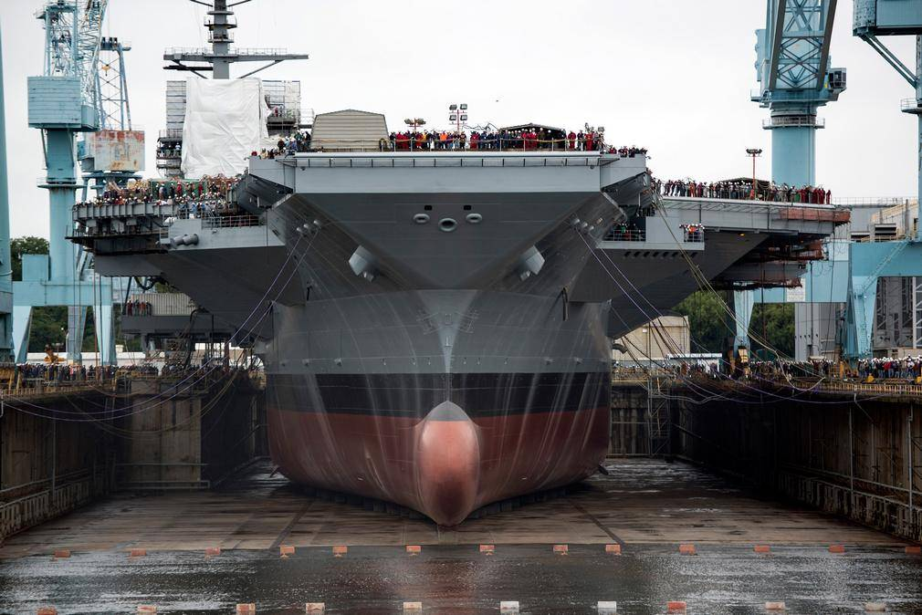 Gerald R. Ford (CVN 78) America's newest aircraft carrier