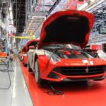 Ferrari FF production line