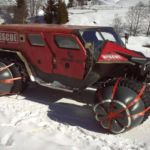 Ghe-O Motors off-road fire and rescue truck