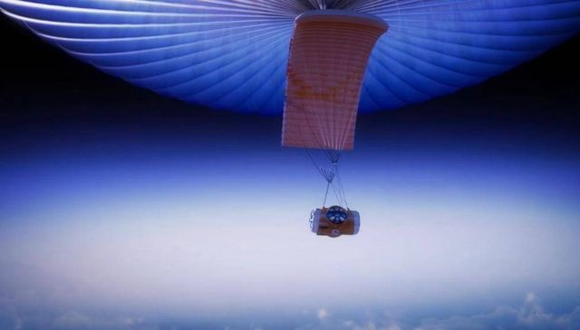 Giant Balloon will take Space Tourists 19 miles above Earth 1