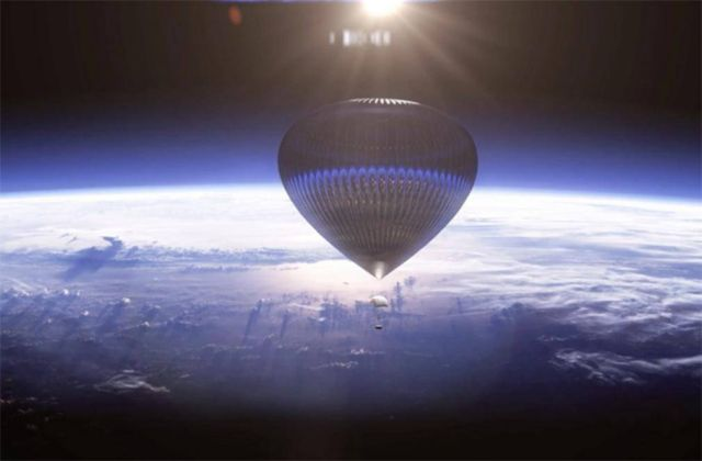 Giant Balloon will take Space Tourists 19 miles above Earth (5)