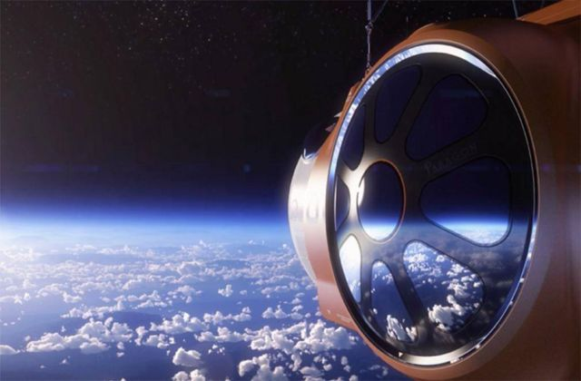 Giant Balloon will take Space Tourists 19 miles above Earth (2)
