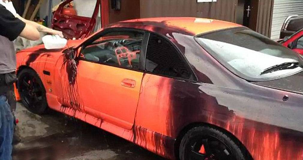 Heat sensitive car color