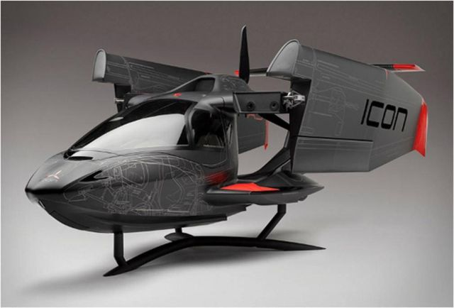 ICON Aircraft - A5 Systems layout model  2