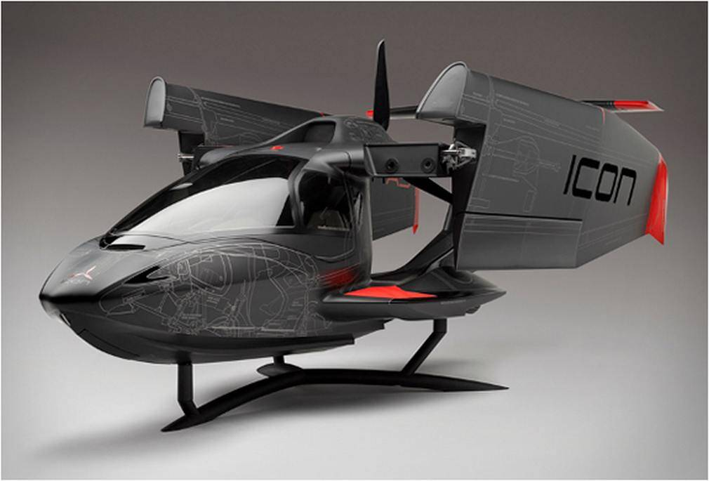 ICON Aircraft - A5 Systems layout model (8)