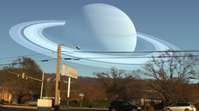 If the Moon were replaced with our planets