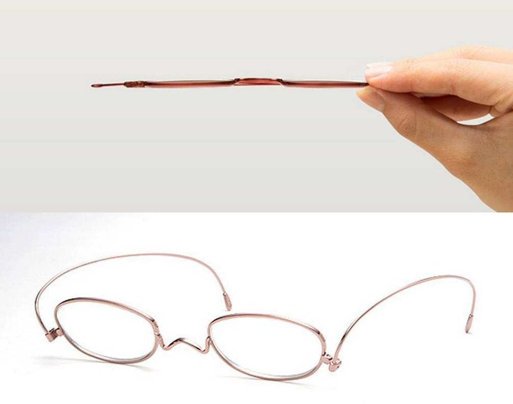Paper glass 2mm thin reading glasses (4)
