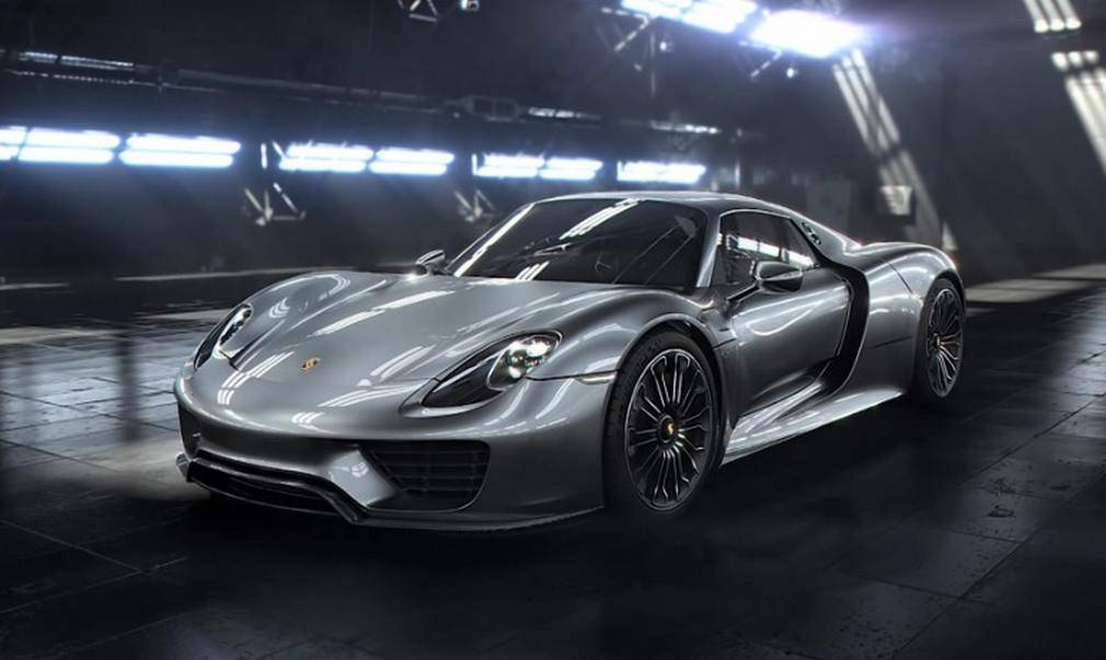 wordlesstech porsche 918 spyder engine technology. Black Bedroom Furniture Sets. Home Design Ideas