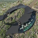 Stingray-shaped house in Arizona