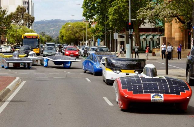 The Family Solar-powered car wins race across Australia (3)
