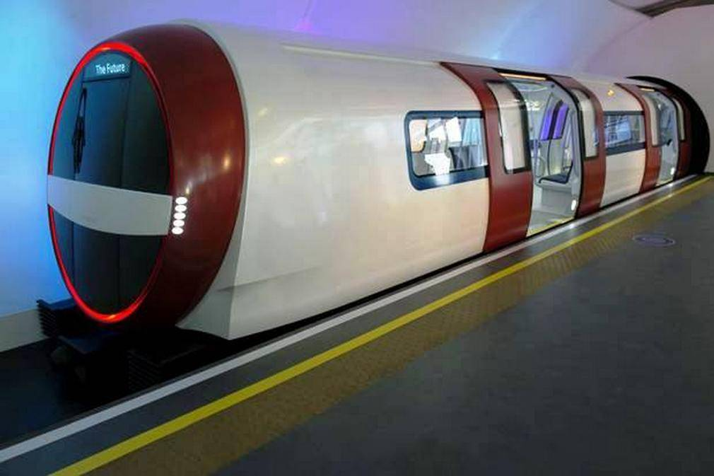 The Tube of the future London train (4)