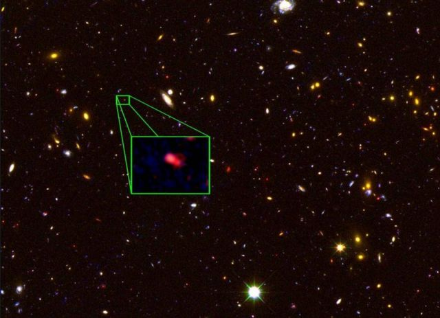Universe's most Distant Galaxy discovered 1