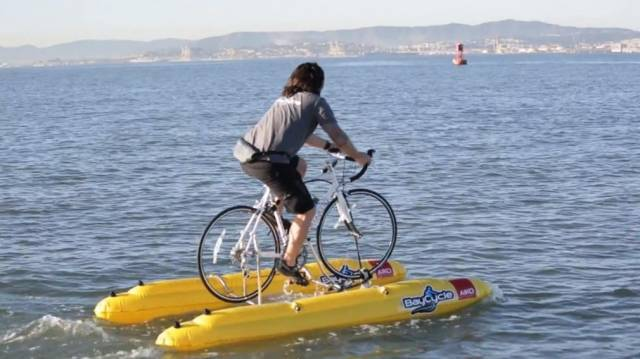 World S First Water Bicycle Wordlesstech