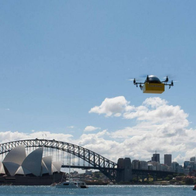 World's first drone delivery service 1