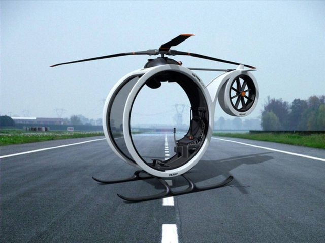 Zero ultralight helicopter concept (1)