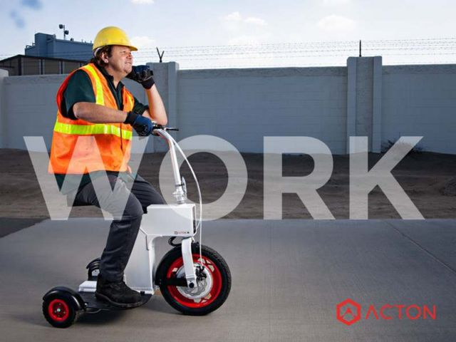Acton M compact Scooter (2)